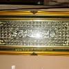 Kaligrafi Kuningan Asmaul Husna (Blok) Standar