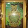Kaligrafi Ayat Kursi (Guci) Hijau Prada