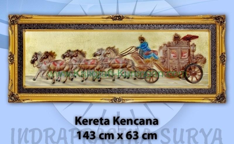 Relief Kereta Kencana kuningan